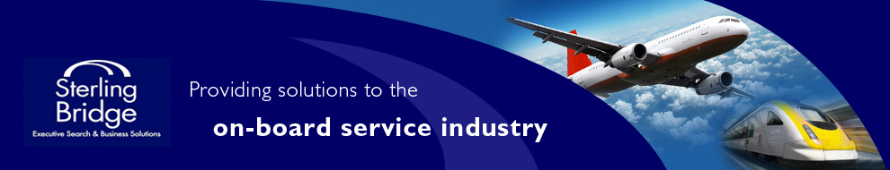 Sterling Bridge International Ltd - providing solutions to the on-board service industry